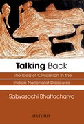 Cover for Talking Back
