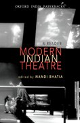 Cover for Modern Indian Theatre