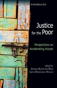 Cover for Justice for the Poor