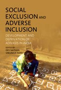 Cover for Social Exclusion and Adverse Inclusion
