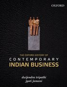 Cover for The Oxford History of Contemporary Indian Business
