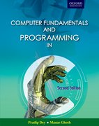 Cover for Computer Fundamentals and Programming in C