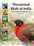 Cover for Threatened Birds of India