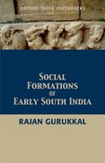 Cover for Social Formations of Early South India