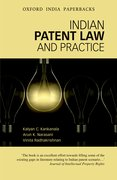 Cover for Indian Patent Law and Practice