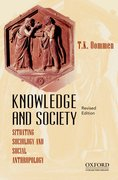 Cover for Knowledge and Society