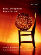 Cover for India Development Report 2012-13