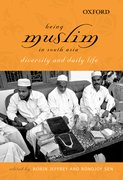 Cover for Being Muslim in South Asia