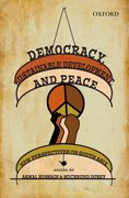 Cover for Democracy, Sustainable Development, and Peace