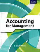 Cover for Accounting for Management: A Basic Text in Financial and Management Accounting