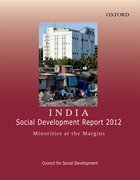 Cover for India: Social Development Report 2012