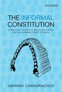 Cover for The Informal Constitution