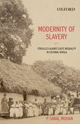 Cover for Modernity of Slavery