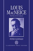 Cover for Louis MacNeice: The Poet in his Contexts
