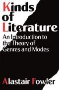 Cover for Kinds of Literature