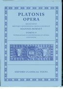 Cover for Plato Opera Vol. V