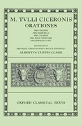 Cover for Cicero Orationes. Vol. II