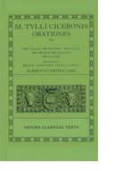 Cover for Cicero Orationes. Vol. VI