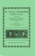 Cover for Cicero Epistulae. Vol. III