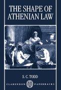 Cover for The Shape of Athenian Law