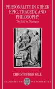 Cover for Personality in Greek Epic, Tragedy, and Philosophy