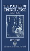 Cover for The Poetics of French Verse