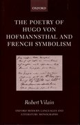 Cover for The Poetry of Hugo von Hofmannsthal and French Symbolism