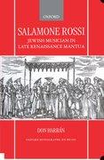 Cover for Salamone Rossi, Jewish Musician in Late Renaissance Mantua