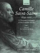 Cover for Camille Saint-Saëns 1835-1921