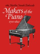 Cover for Makers of the Piano 1700-1820