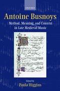Cover for Antoine Busnoys
