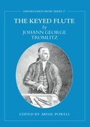 Cover for The Keyed Flute by Johann George Tromlitz