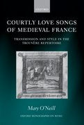 Cover for Courtly Love Songs of Medieval France