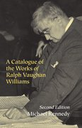 Cover for A Catalogue of the Works of Ralph Vaughan Williams
