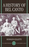 Cover for A History of Bel Canto
