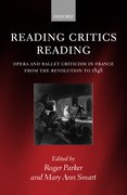 Cover for Reading Critics Reading