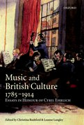 Cover for Music and British Culture, 1785-1914