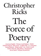 Cover for The Force of Poetry