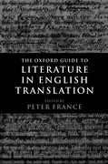 Cover for The Oxford Guide to Literature in English Translation
