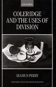 Cover for Coleridge and the Uses of Division