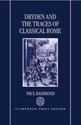 Cover for Dryden and the Traces of Classical Rome