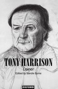 Cover for Tony Harrison