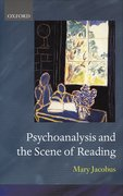 Cover for Psychoanalysis and the Scene of Reading