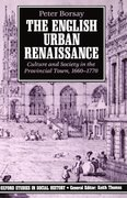 Cover for The English Urban Renaissance