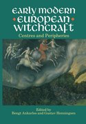 Cover for Early Modern European Witchcraft