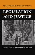 Cover for Legislation and Justice