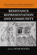 Cover for Resistance, Representation and Community