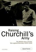 Cover for Raising Churchill