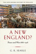 Cover for A New England?
