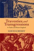 Cover for Travesties and Transgressions in Tudor and Stuart England